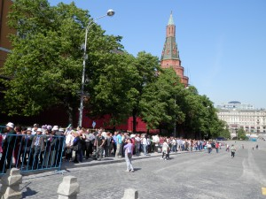 Lenin Mausoleum's queue