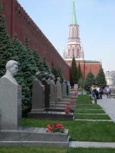 Stalin's grave has the most flowers